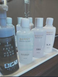 化粧水乳液クレンジング洗顔手洗いフォーム