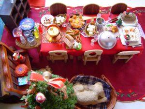 クリスマス食べ物 ヘッダー画像