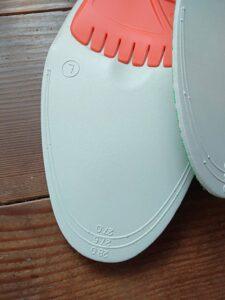 日本野鳥の会の長靴インソールL